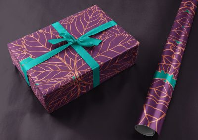 Metallic Maple Giftwrap